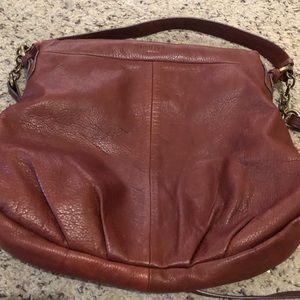 Margot Leather Boho Crossbody Bag